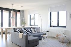The home of Karlijn and Pieter - contemporary - living room - amsterdam - Holly Marder