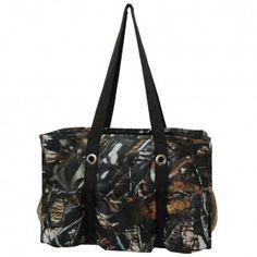 Camo Organizer Tote Bag