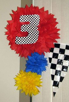 """inspired by the """"Cars"""" movie Birthday Party Ideas 