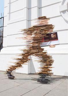 UPS: Bringing speed to life - #Creative Criminals   #guerillamarketing #guerilla #advertising < found on www.creativecriminals.com pinned by www.GuerillaMarketing-Agentur.de a division of www.BlickeDeeler.de