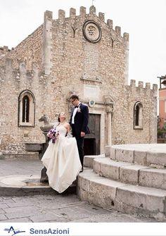 Taormina square wedding photo idea. Taormina, Sicily