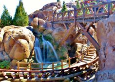 Seven Dwarfs Mine Train in Fantasyland at the Magic Kingdom