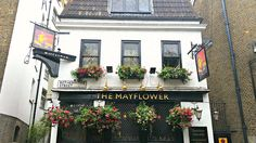 Fish and Chips with a Side of History at the Mayflower Pub