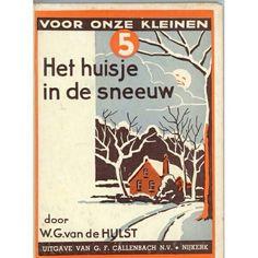 Ik heb nog het boekje Voetstapjes in de sneeuw. Ook van WG van de Hulst! Leuk!