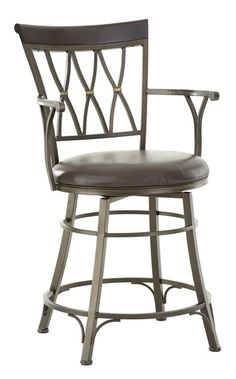 Bali Jumbo Swivel Counter Chair with Armrest by Vendor 3985 at Becker Furniture World Swivel Counter Stools, 24 Bar Stools, Counter Height Stools, Bar Chairs, Dining Chairs, Counter Chair, Room Chairs, Table Stools, Pink Chairs