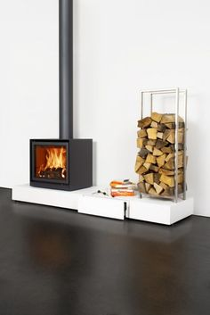 Stûv with podium set – Freestanding fireplace wood burning Fireplace Hearth, Home Fireplace, Fireplace Design, Fireplaces, Freestanding Fireplace, Pellet Stove, Wood Burning Fires, Wood Burner, Cubes