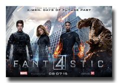 Looks like fun #Fantastic4 #Fan4 #FantasticFourPoster available at  http://concertposter.org/fantastic-4-movie-promo-flyer-poster-four-film-2015-wide/