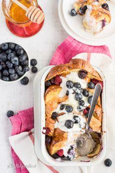 ZAPIEKANE TOSTY FRANCUSKIE Quiche, Breakfast, Supper Ideas, Foodies, Blog, Fotografia, Morning Coffee, Quiches, Blogging