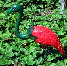 Strawberry flamingo