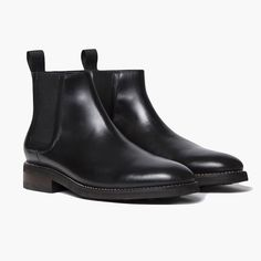 Black Duke Chelsea Boot | Thursday Boot Company