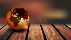 World Globe Wood Background. A world globe on a rustic wood background royalty free stock image Rustic Wood Background, Map Background, World Globes, Technology Background, Royalty, Stock Photos, Abstract, Continents, Creative