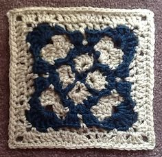 Ravelry: Project Gallery for Gothic Square pattern by Priscilla Hewitt