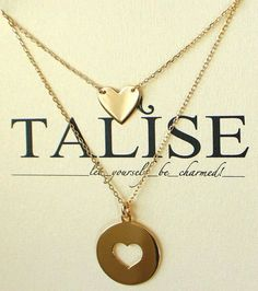 all season long! Plating, Gold Necklace, Pendants, Chain, Heart, Silver, Collection, Jewelry, Gold Pendant Necklace