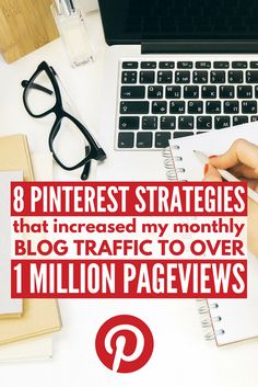 Want to know the best Pinterest marketing tips that will teach you how to increase blog traffic? Look no further! We're sharing 8 of our best expert Pinterest marketing strategies, tools, and ideas to help take your business to the next level. Perfect for bloggers, these simple blog tips will teach you how to increase pageviews using the Pinterest social media tips that helped grow my blog stats to over 1,000,000 pageviews each month!