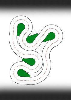 Drift Strecke - Track 1