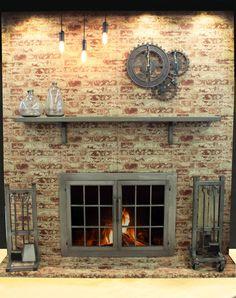 22 most inspiring custom fireplace screens images book shelves rh pinterest com