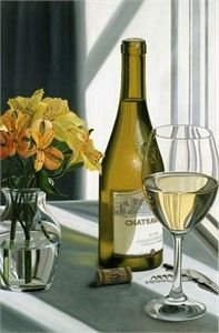 """Scott Jacobs Hand Signed and Numbered Limited Edition Canvas Giclee: """"Chateau"""""""