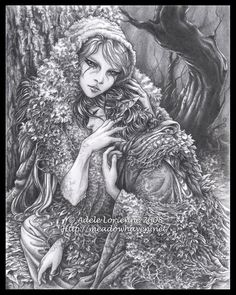 Faeren and the Mistress of Illusion, the embodiment of the Forest that shelters and imprisons him. She holds and guards him like a jealous lover while he sleeps, but during the day she appears to h...
