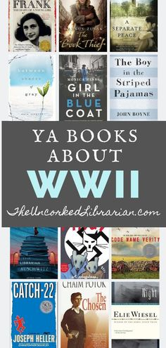 14 YA Books About WWII & The Holocaust Find 14 top books for young adults, tweens, and middle and high school students on this World War 2 reading list. Ya Books, Book Club Books, Book Nerd, Reading Lists, Book Lists, Books For Tweens, Books For Girls, Tween Books, Funny Animals
