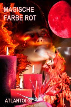Rot ist von allen Farben die kräftigste und wärmste. Sie steht für Lebensenergie, Kraft und Leidenschaft. Rot ist eine Farbe der Extreme. Sie steht symbolisch für die tiefsten menschlichen Leidenschaften bis hin zu Abenteuer, Wut oder Zorn. Rot gilt als König der Farben, stellt Freude und Gefahr dar. #Magie, #magisch, #Farbe, #Farbe Rot, #Lebensenergie, #Leidenschaft, #kosmisch, #Kosmos Movie Posters, Red Color, Knowledge, Passion, Adventure, Rage, Film Poster, Billboard, Film Posters