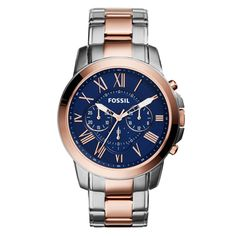 Buy Fossil FS5024 Silver And Gold Chronograph Watch by E TRADERS RETAIL, on Paytm, Price: Rs.11995?utm_medium=pintrest