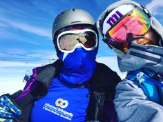 Kaci McClure gave a shout out to her AO doctors who are keeping her healthy and on the mountains! #beactive #whatkneepain?