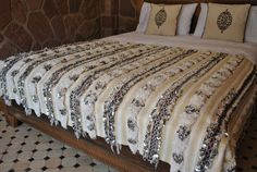 handira - Morrocan wedding blanket