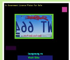 Us government license plates for sale 163036 - The Best Image Search