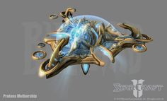Starcraft 2: Protoss Mothershi by PhillGonzo.deviantart.com on @DeviantArt
