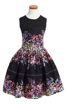 FiveloavesTwofish 'Go To' Sleeveless Floral Print Dress (Big Girls) available at #Nordstrom