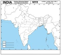 41 Best Map Of India With States Images India Map India