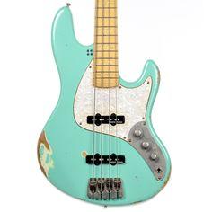 Sandberg California II TSBS 4-String Bass Surf Green Relic