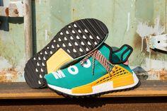 "4ef15847c Pharrell Williams x Adidas NMD Human Race ""Sun Glow"" Real Boost AC7188 3  Pharrell"