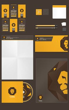 Techlion Corporate Branding Project by Lemongraphic , via Behance