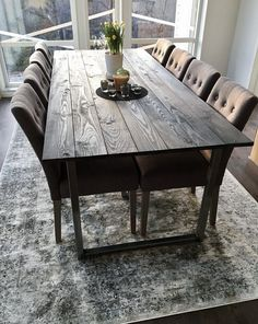 RH HOME - Matbord furu/stål