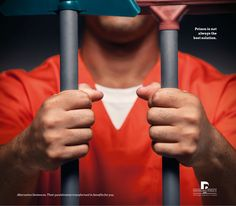 Defensoria Pública Bahia: #Prison is not always the best solution. Alternative Sentences. Their punishments transformed in benefits for you.