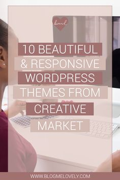 10 Beautiful & Responsive WordPress Themes from Creative Market Graphic Design Tips, Web Design, Design Tutorials, Blog Designs, Website Designs, Online Marketing, Content Marketing, Internet Marketing, Media Marketing