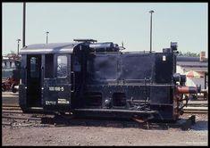 Fahrzeugausstellung am 26.8.1990 im BW Magdeburg: Köf 100196