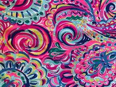 """Lilly Pulitzer Psychedelic Sunshine 18""""x18"""" fabric piece. Lilly Pulitzer Prints, Psychedelic, Sunshine, Wallpaper, Painting, Vintage, Phone, Clothes, Art"""