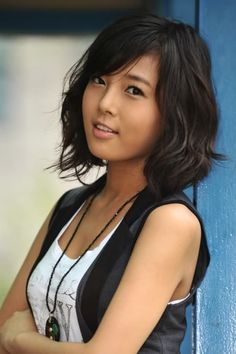 Lob Asian Hairstyle