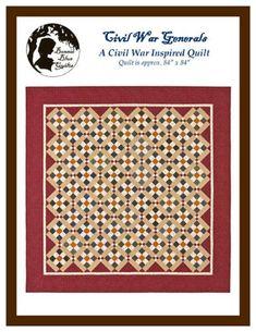 Bonnie Blue Quilts - Civil War Generals Quilt Pattern