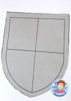 schild voor ridder knutselen, thema ridders, kleuteridee, shield craft knights theme kindergarten 1 Princess Tea Party, Medieval Times, Middle Ages, Kindergarten, Preschool, Kids Rugs, Dragon, Knights, Fun