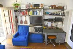 DIY built in bookshelf; Small Cool 2013 Contest