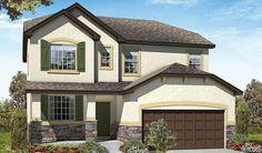 Whitman-D200-PicketLn Elevation B Rend   Whitman floor plan   Richmond American Homes   ,   