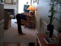 Plus Size Yoga routine    The maker of this video commented :  I made this routine for my plus sized friend because it is mindful of her middle area. :-)