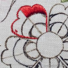 Silk Hand Embroidery Sampler