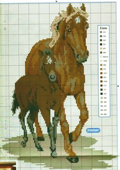 Cross Stitch Horse, Cross Stitch Animals, Cross Stitch Kits, Cross Stitch Designs, Cross Stitch Patterns, Farm Crafts, Horse Crafts, Cross Stitching, Cross Stitch Embroidery