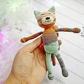 Куклы и игрушки ручной работы. Ярмарка Мастеров - ручная работа Котик Аминеко. Handmade.