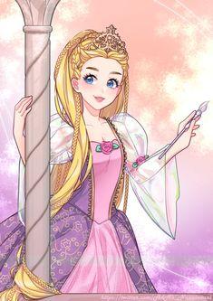 Barbie Dvd, Barbie Movies, Mattel Barbie, Princess Art, Anime Princess, Barbie Fashion Sketches, Barbie Swan Lake, Rapunzel Cosplay, Barbie Drawing