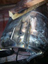 Make a Frontier Stove From a Gas Bottle : 22 Steps (with Pictures) - Instructables Frontier Stove, Gas Bottle Wood Burner, Outdoor Projects, Diy Projects, Stove Paint, Rocket Mass Heater, Built In Bbq, Metal Shop, Wire Brushes